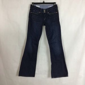 Gap Perfect Boot Jeans Size 25 / 0p Blue Dark Wash